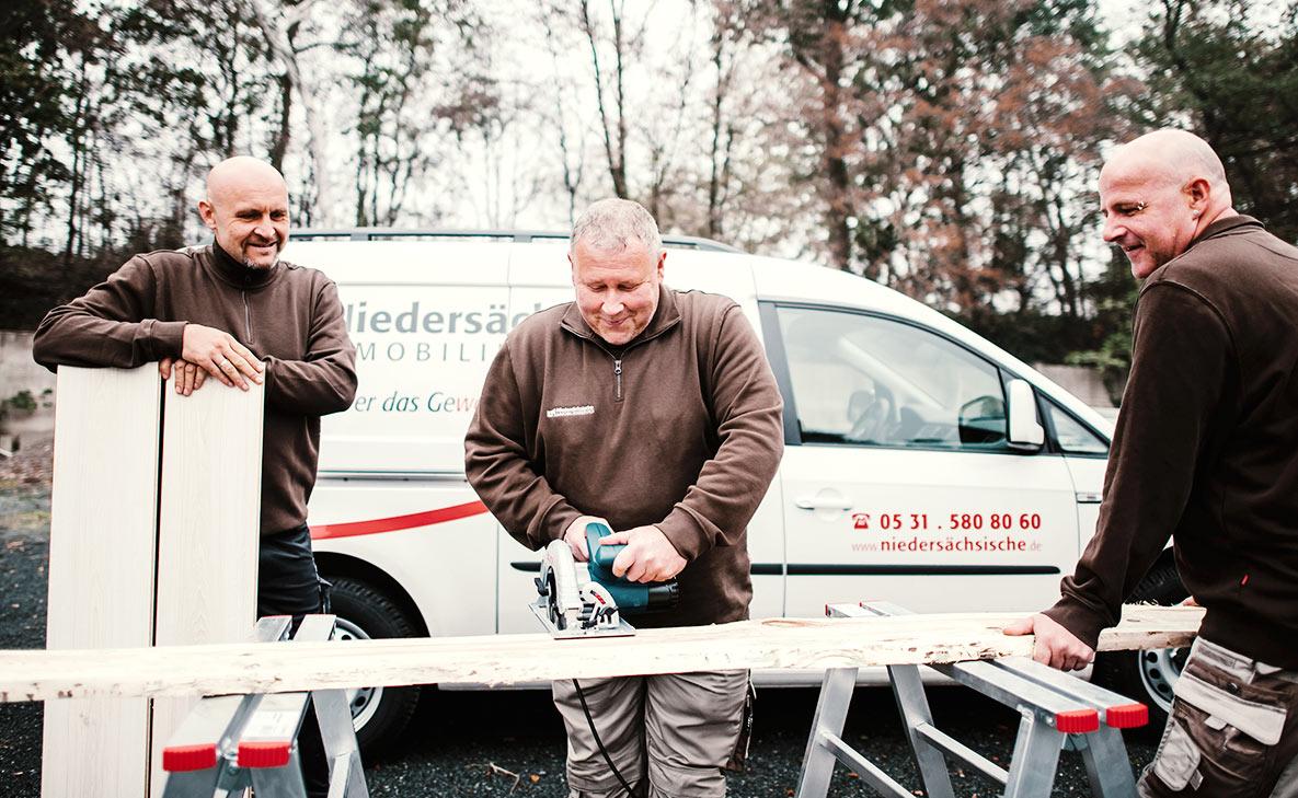 Technischer Service - Tischlerarbeiten
